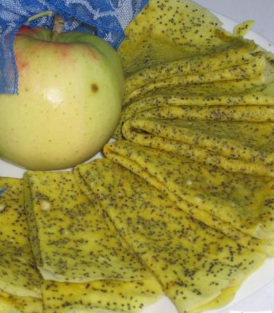 Лимонно-маковые блины