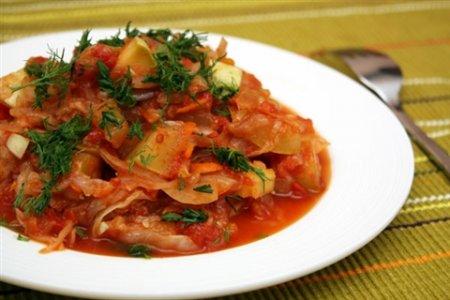 Рецепт осеннего овощного рагу