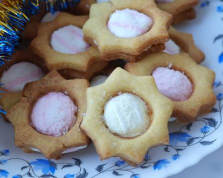Рисовое печенье с маршмеллоу