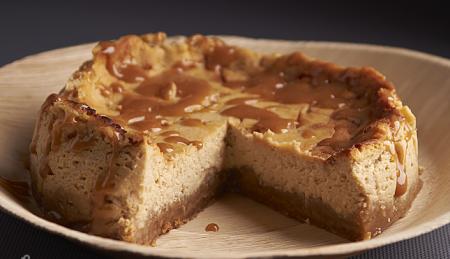 Творожный тортик с карамелью
