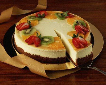 Творожный тортик суфле