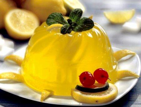 Приготовление лимонного желе