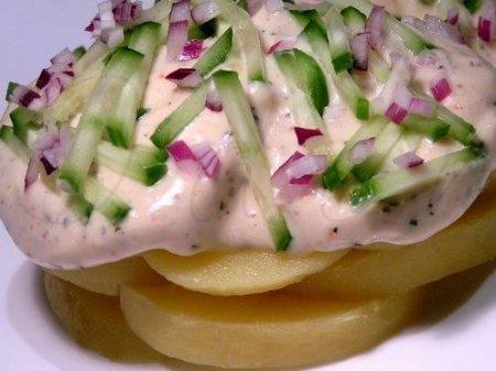 Жгучая картофельная закуска